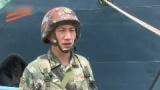 """我陆军海战队罕见亮相 面对""""不明船只""""实战标准驱离"""
